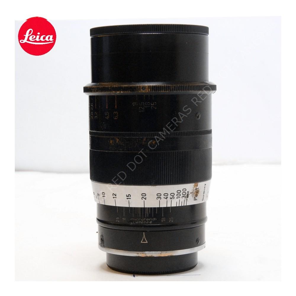 Leitz Thambar 9cm f/2.2 Hood, Filter, Caps L-39