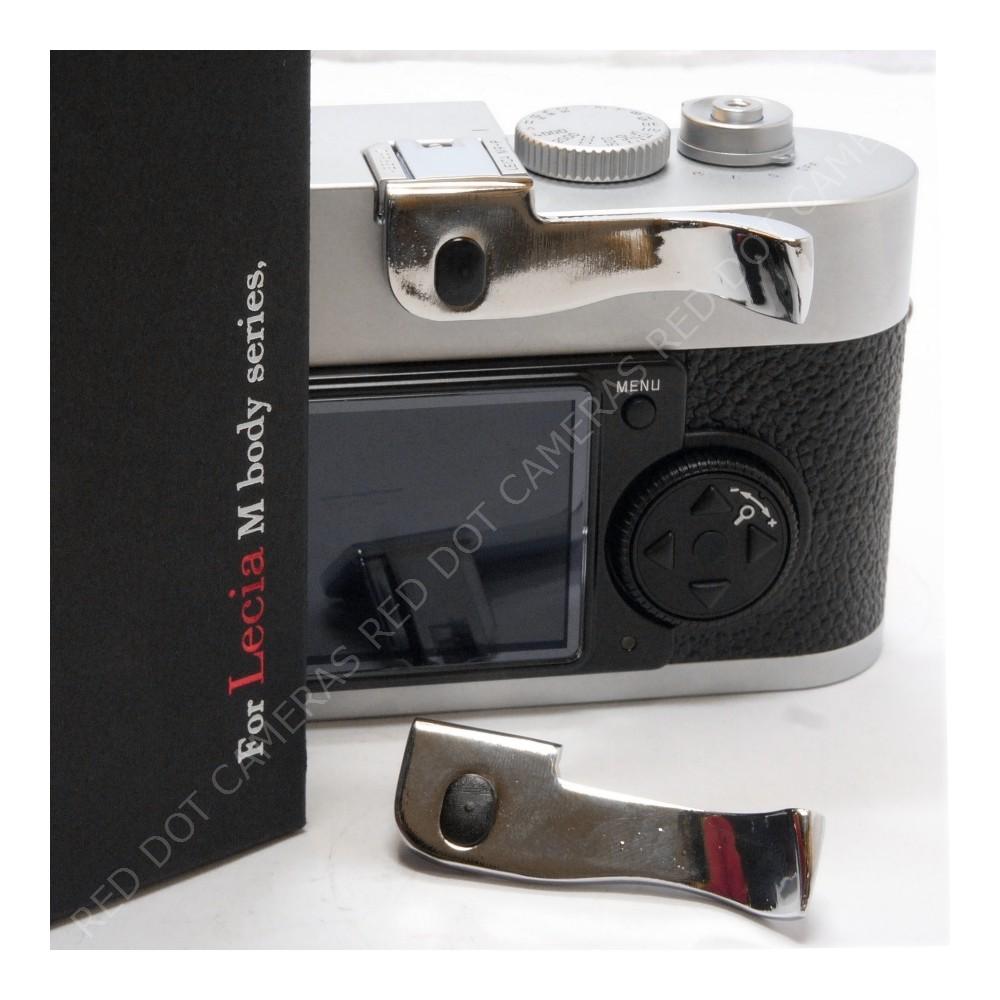 Pixco Thumb for Leica M8,M8.2,M9,M9-P,ME Chrome