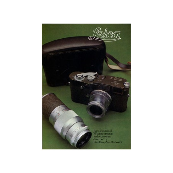 Leica Rare & Unusual M Cameras & Acc. By P Hasbroeck