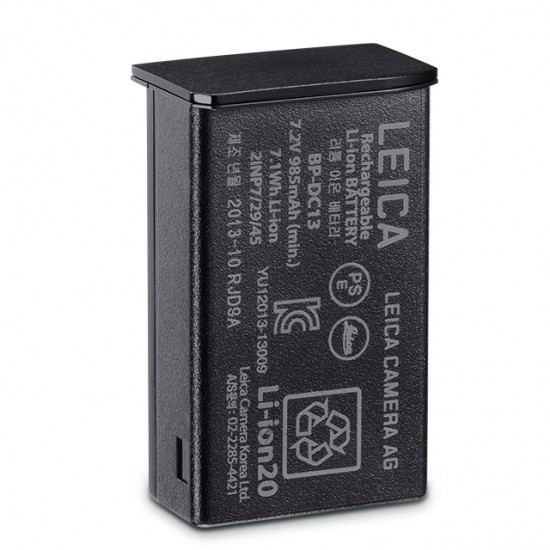 Leica TL Lithium-Ion Battery BP-DC13, Black