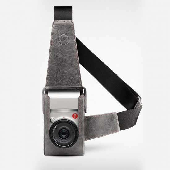 Leica TL-Holster, Leather, Stone-Grey