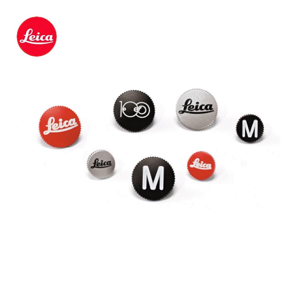 """Leica Soft Release Button """"Leica"""" 12mm Chrome"""