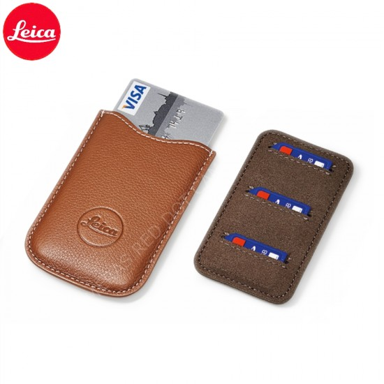 Leica SD and Credit Card Holder, Cognac Leather