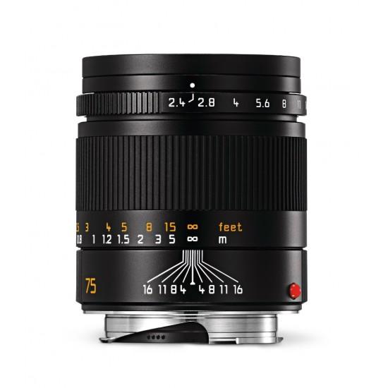 Leica Summarit-M 75mm f2.4 6-Bit Black