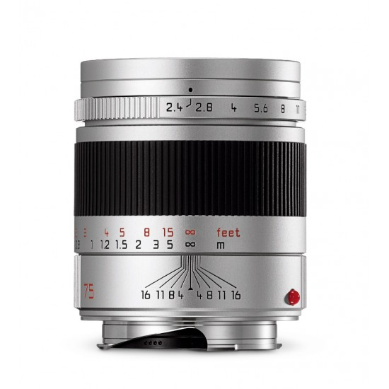 Leica Summarit-M 75mm f2.4 6-Bit Chrome