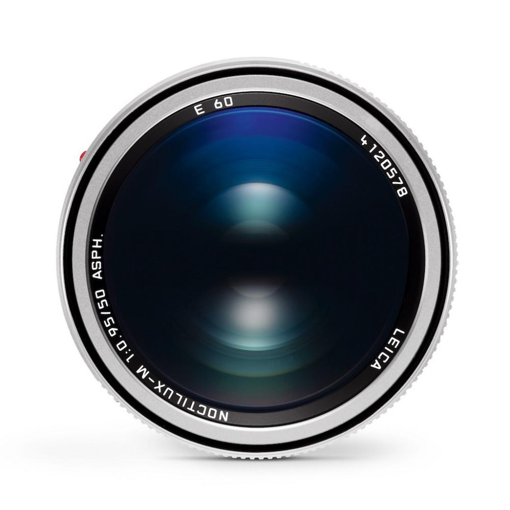 Leic Noctilux-M 50mm f0.95 6-Bit Silver Anodized