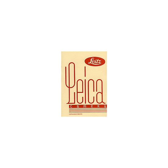Leica Catalogue 1931