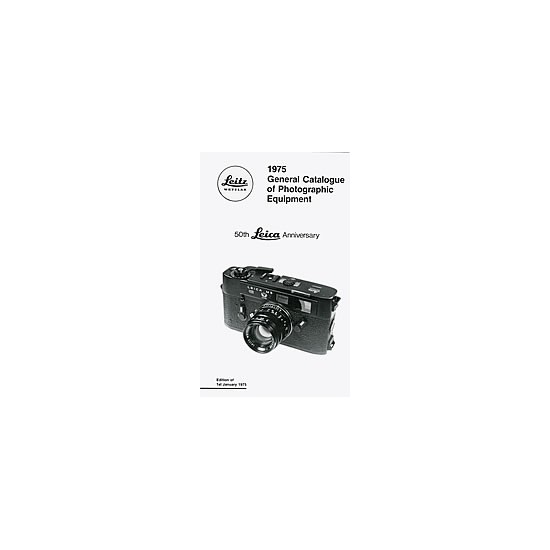 Leica General Catalogue 1975