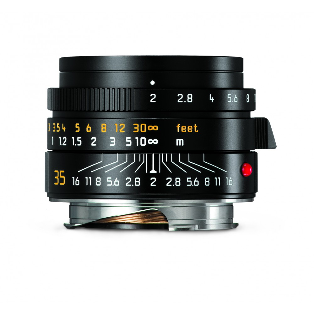 NEW Leica Summicron 35mm f2 ASPH-M Black