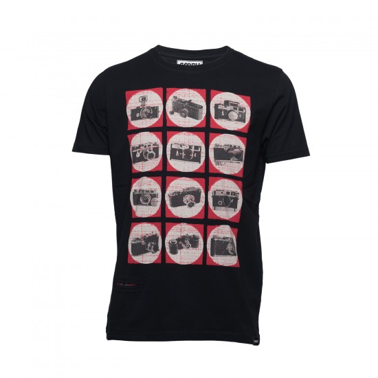 Cooph T-Shirt Camchart Black (Small)
