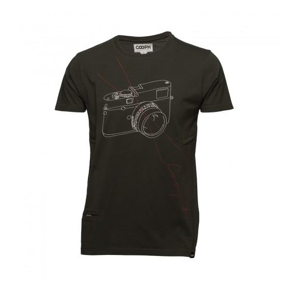 Cooph T-Shirt Sitichcam Khaki (Large)
