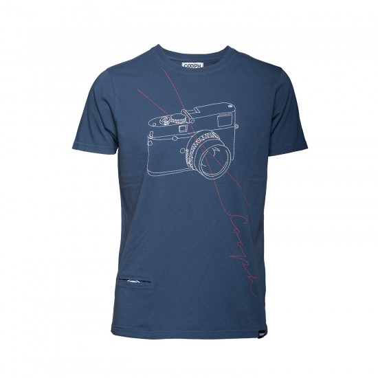 Cooph T-Shirt Stitchcam Petrol (Small)