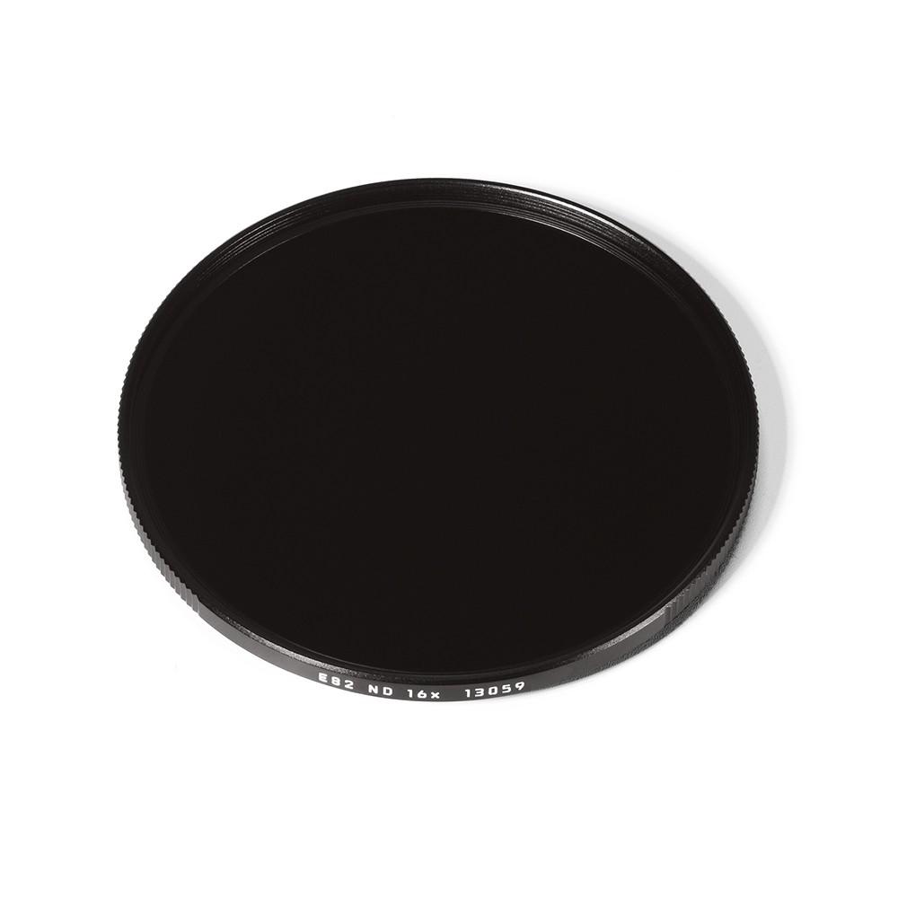 Leica E82 Filter ND 16x Black