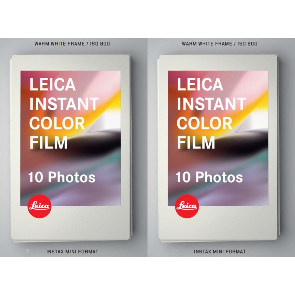 Leica SOFORT Colour Film Double Pack (2x10 Shots)