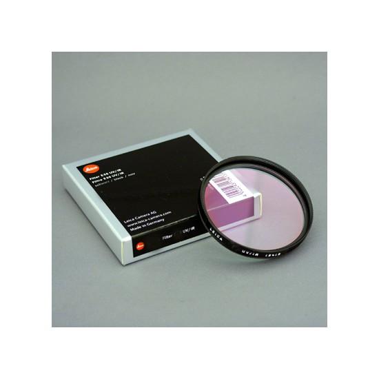Leica E46 UV/IR Filter Black for M8 Cameras Only