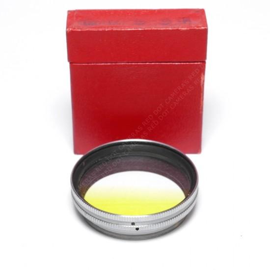 Leitz Summitar Filter Graduated Yellow Boxed