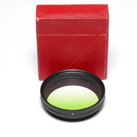 Leitz Summitar Filter Graduated Green Boxed