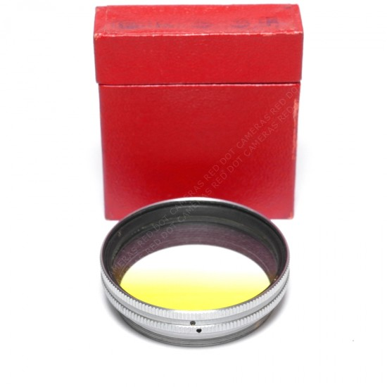 Leitz Summitar Filter Graduated Yellow Boxed (Chrome)