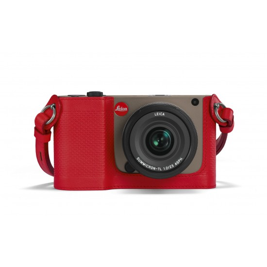 Leica Protector for TL Leather Red