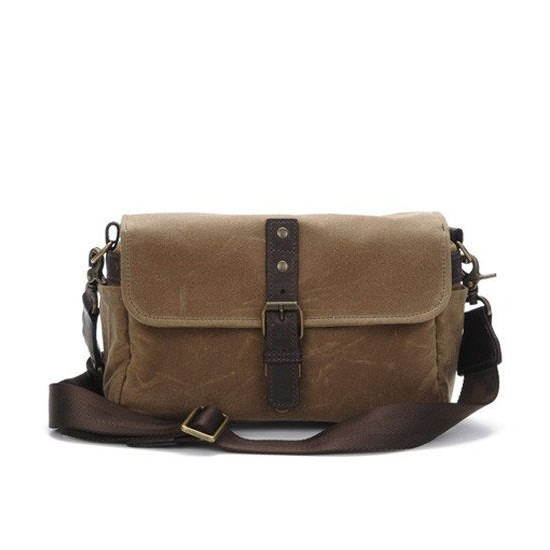 ONA Bag Bowery Canvas Tan Waxed Canvas