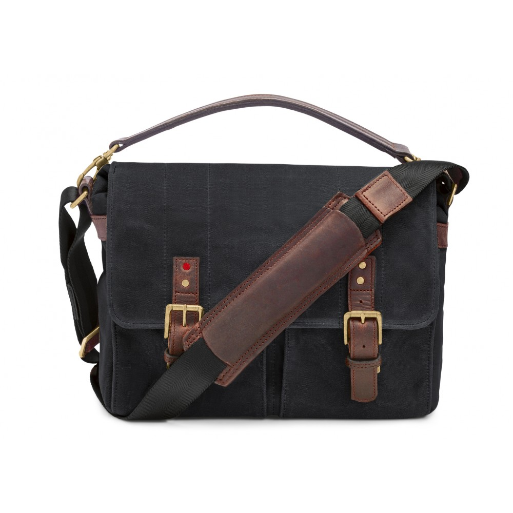 ONA Bag PrinceCanvas Black Waxed Canvas