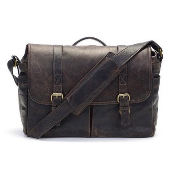 ONA Bag Brixton Leather Dark Truffle Leather