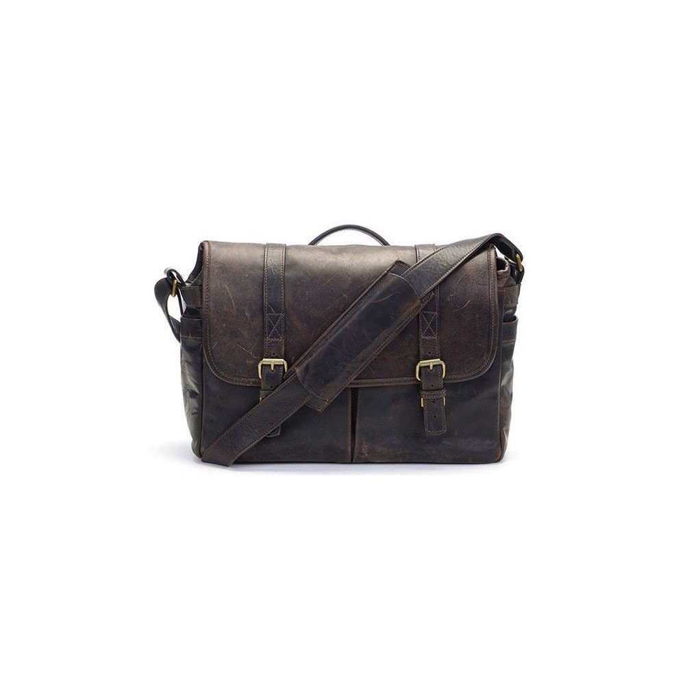 ONA Bag Brixton Leather Dark Truffle Leather