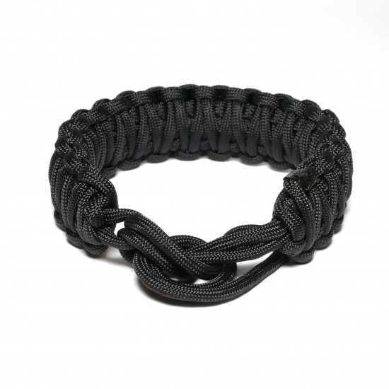 Nodeo Wrist Strap Hefty Black