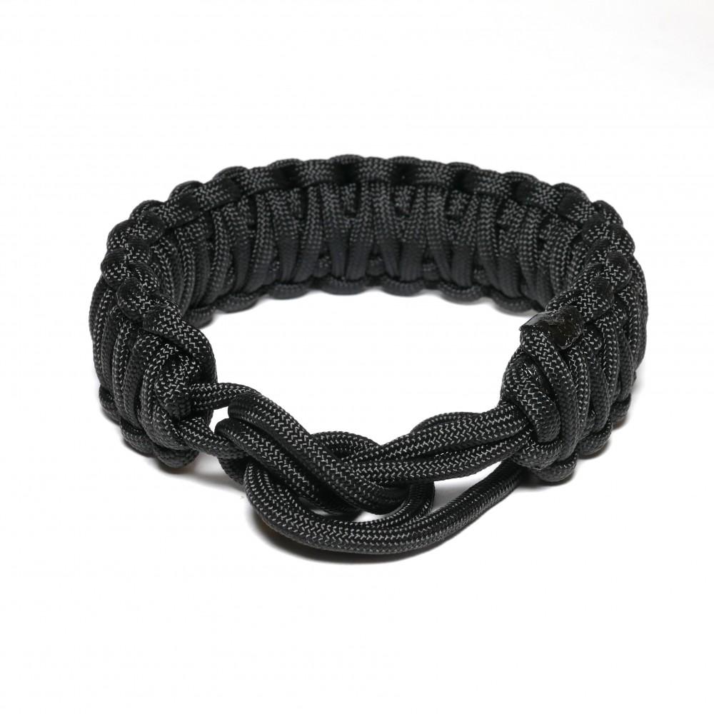 Nodeo Wrist Strap Hefty Black