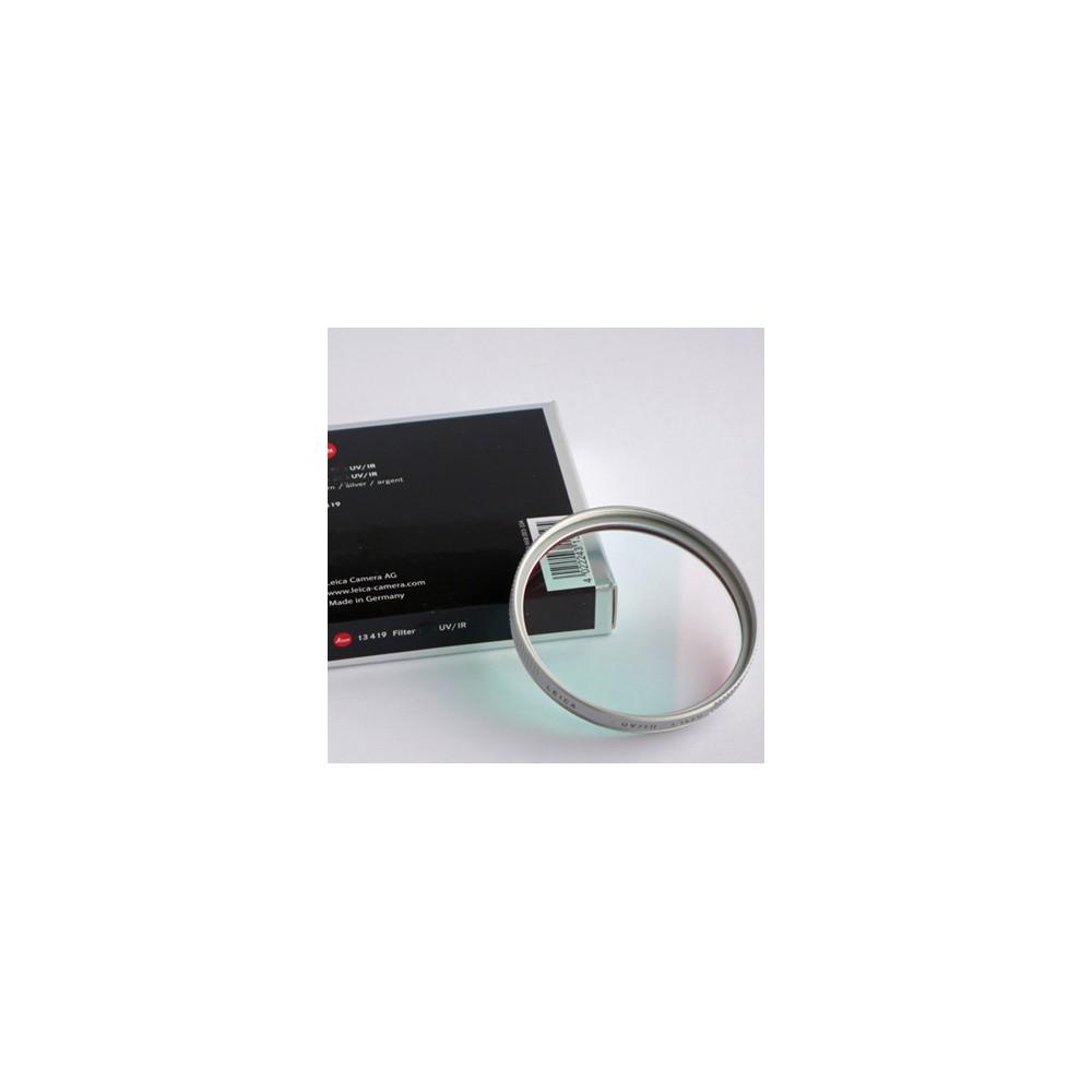 Leica E55 UV/IR Filter Chrome for M8 Cameras Only