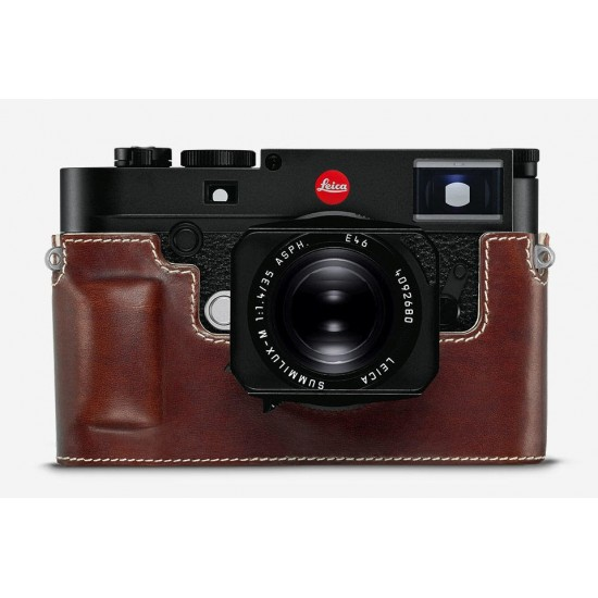 Leica Protector Vintage Brown Leather for M10 Cameras