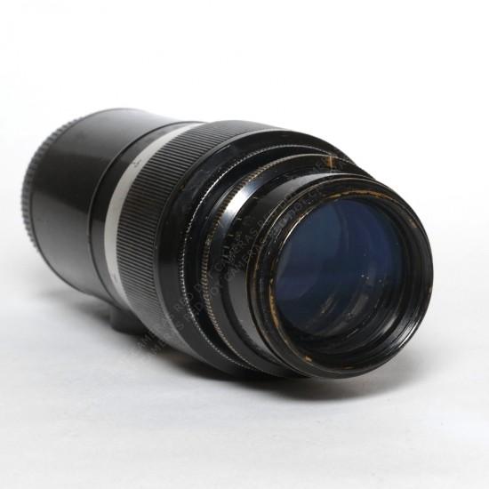Leitz Elmar 135mm f4.5 L-39 Black Paint (Uncoupled) + Case