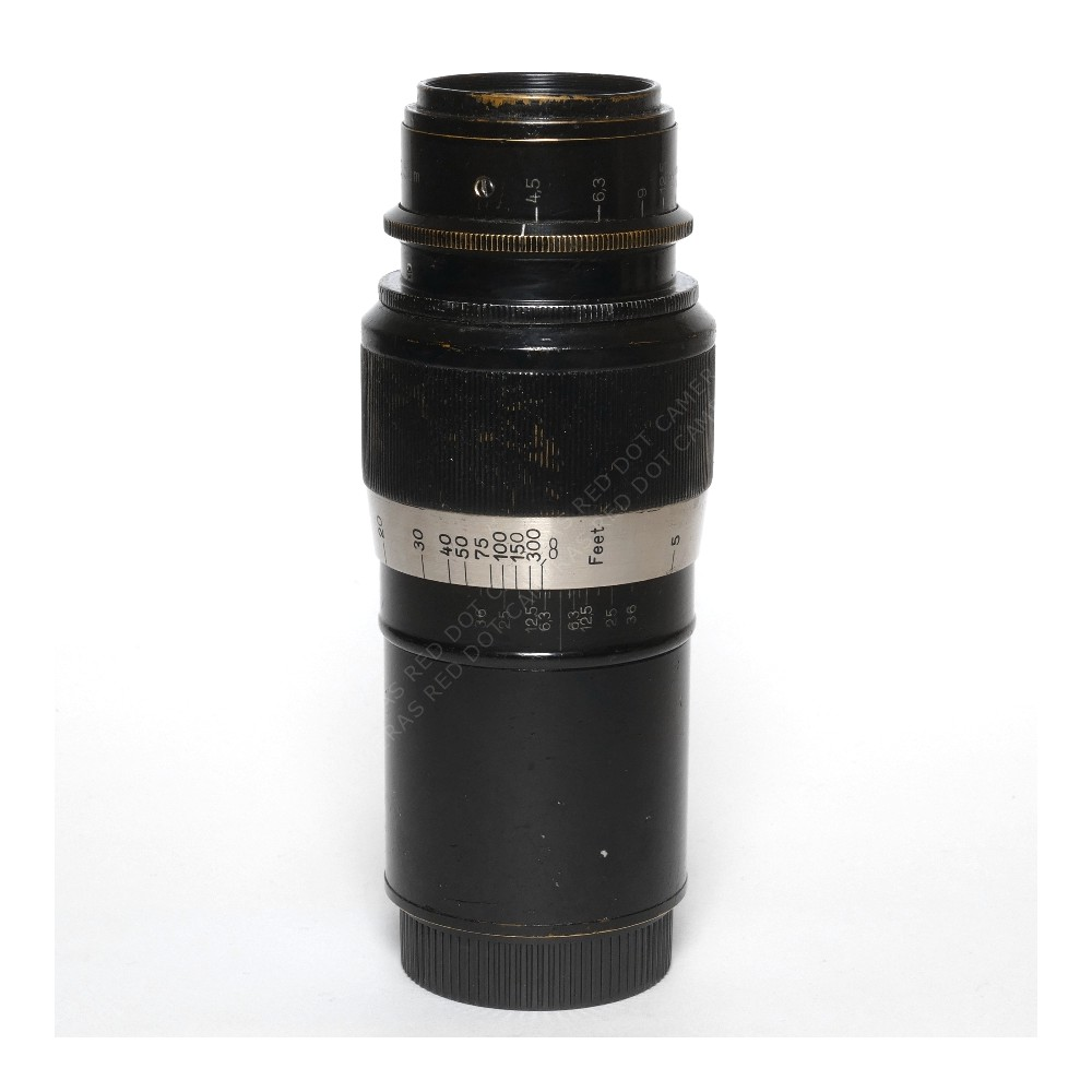Leitz Elmar 135mm f4.5 L-39 Black Paint (Uncoupled) + Case