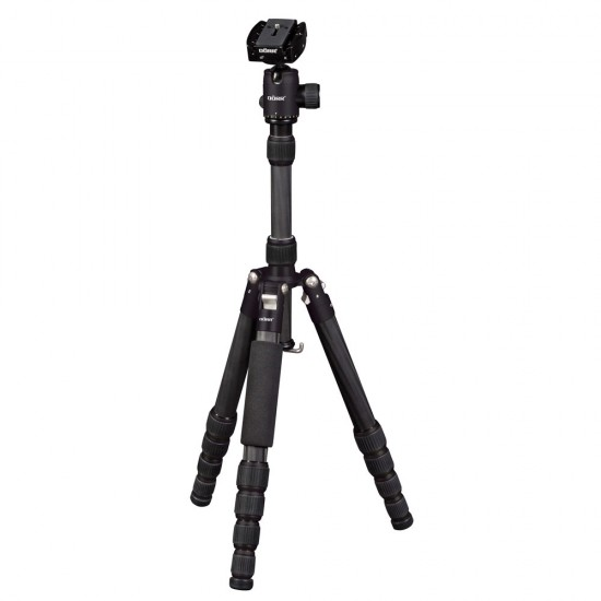 Dorr HQ1315 5 Section Black Aliminium Tripod
