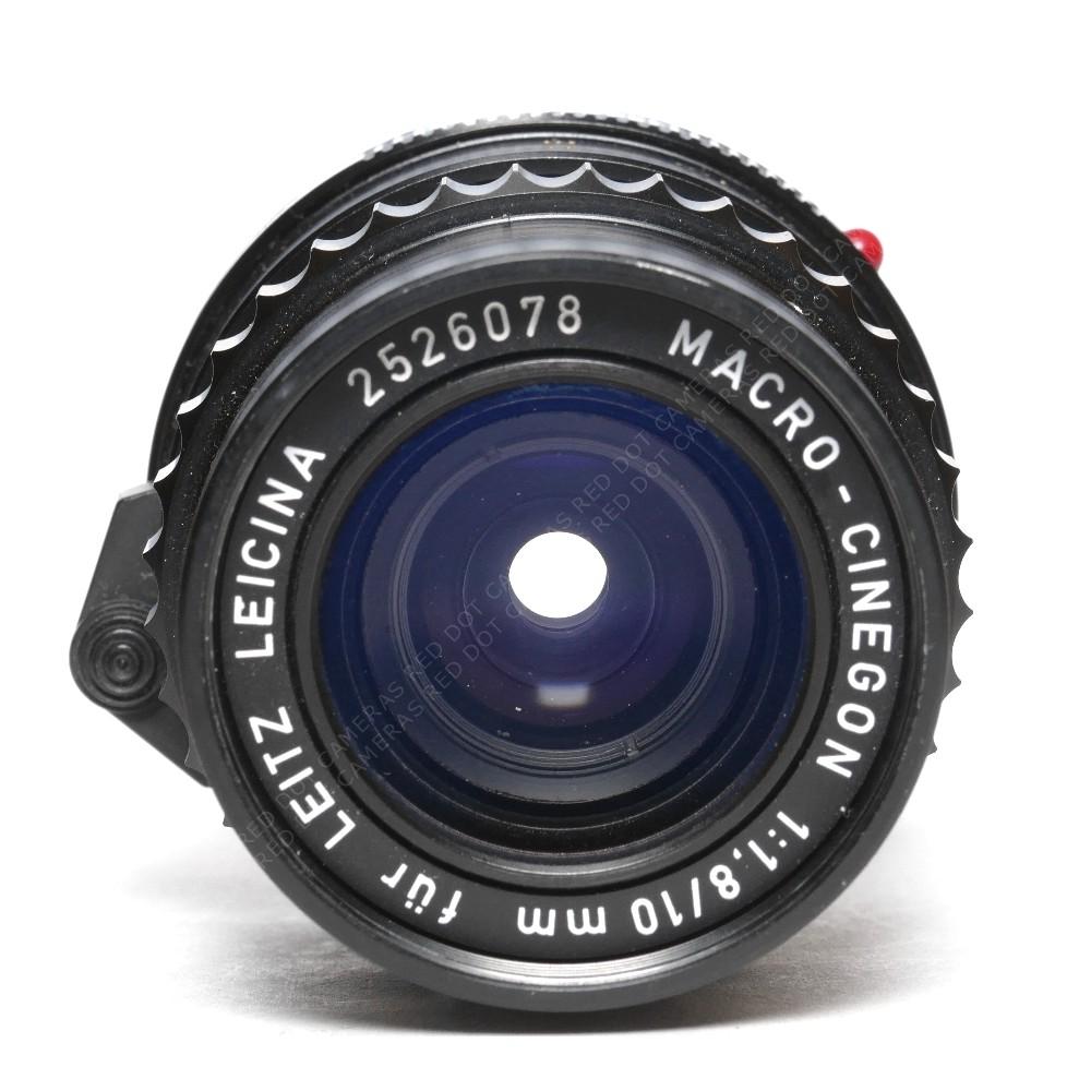 Leitz Leicina 10mm F1.8 Macro-Cinegon Lens M Mount