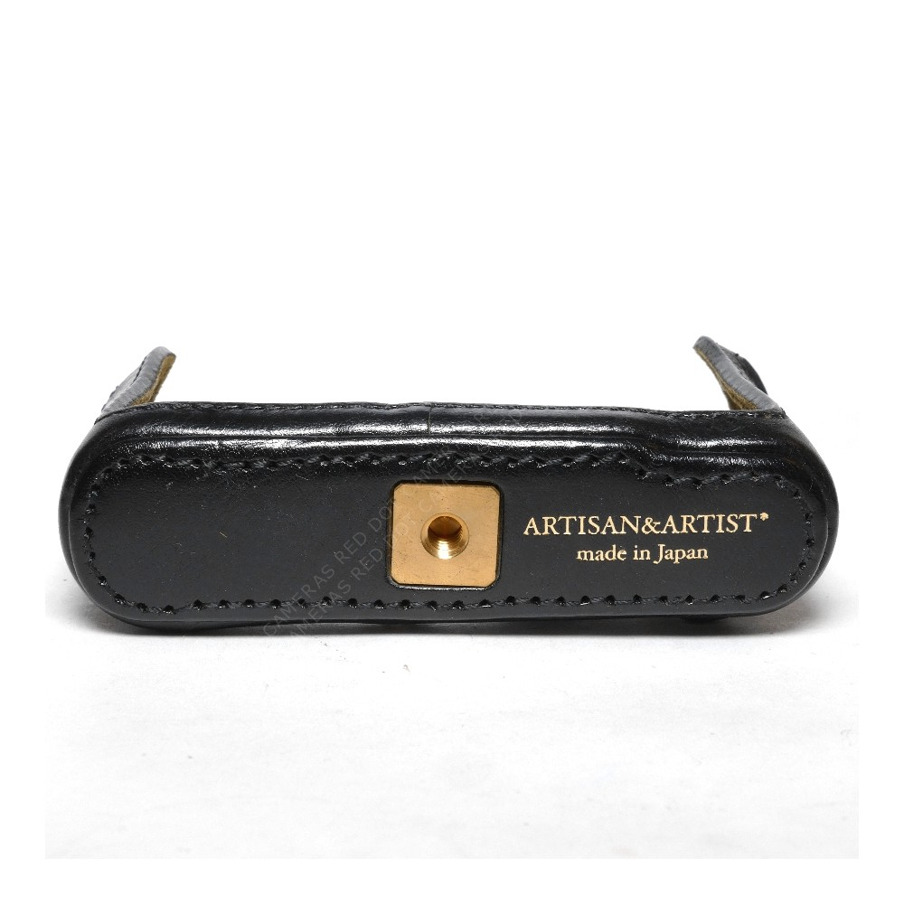 Artisan & Artist LMB-D5 Standard 1/2 Black Leather Case