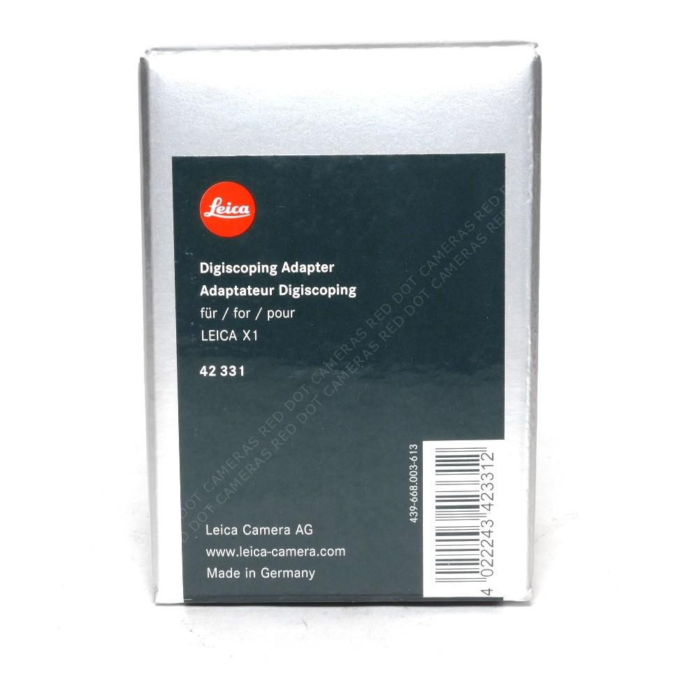 Leica X1/X2/X-E Digiscoping Adapter