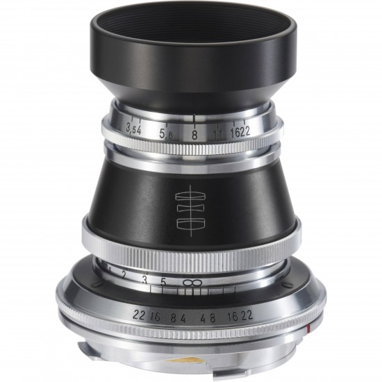 Voigtlander 50mm f3.5 Vintage Line VM Heliar Lens