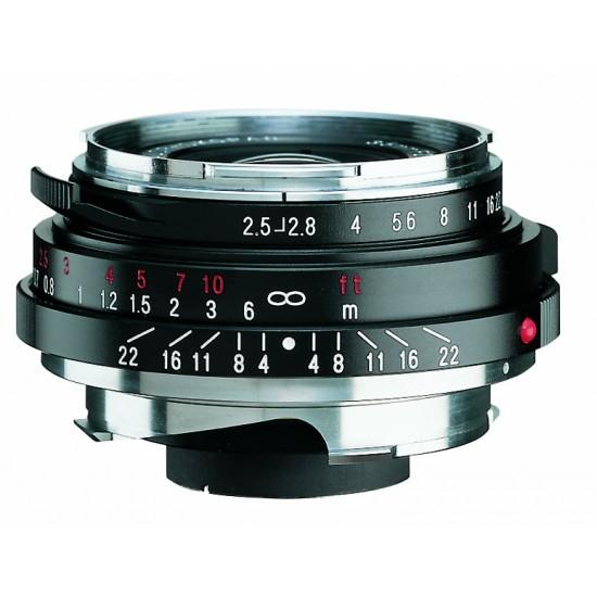 Voigtlander 35mm F2.5 P-type II VM Mount Color-Skopar Lens