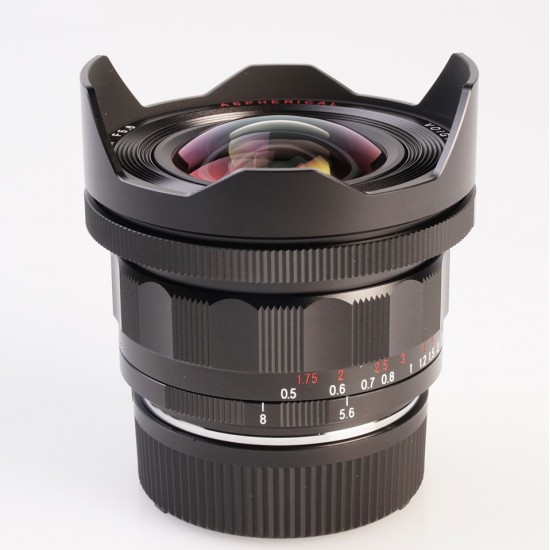 Voigtlander 10mm F5.6 VM Mount Ultra-Wide-Heliar Lens