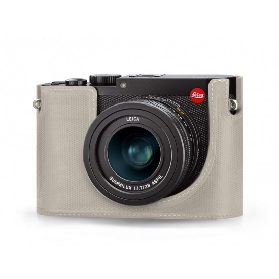 Leica Q Protector Leather Cemento