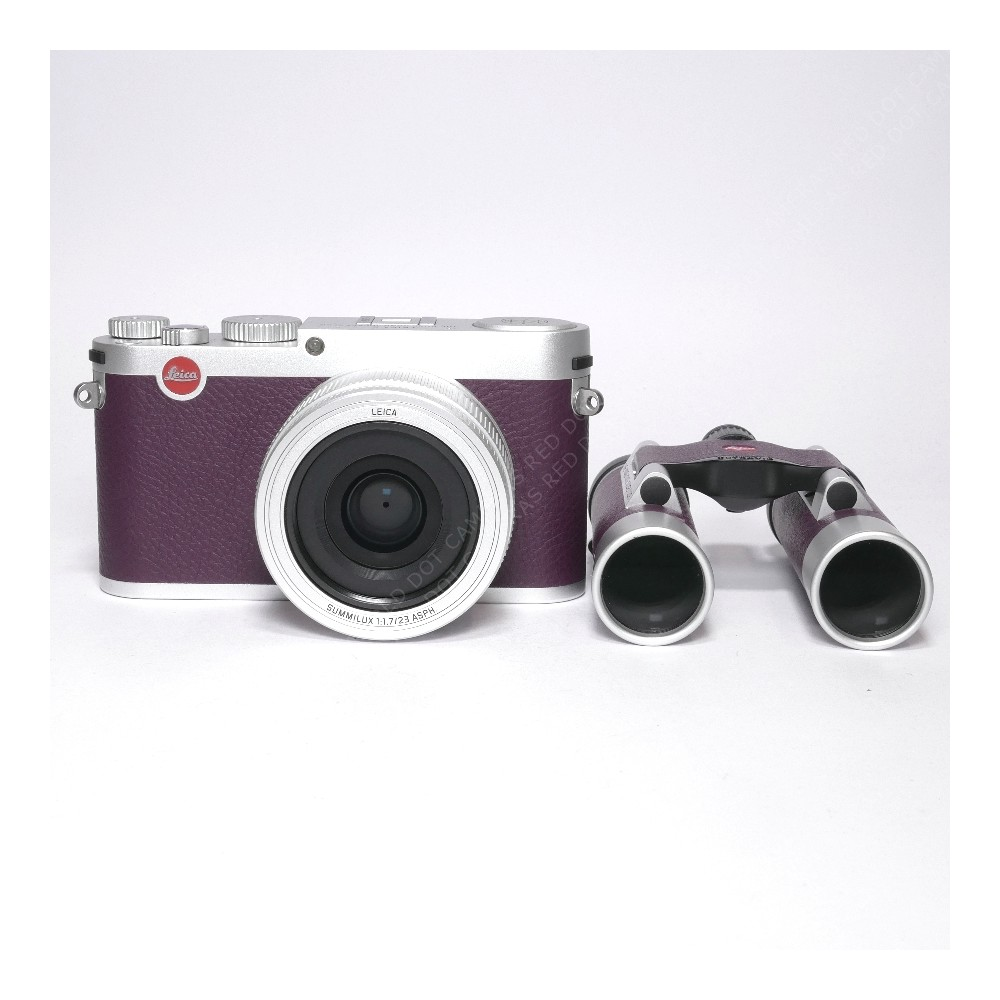 "Leica X(113) & Leica Ultravid 10x25 ""Jockey Club"" Edition"