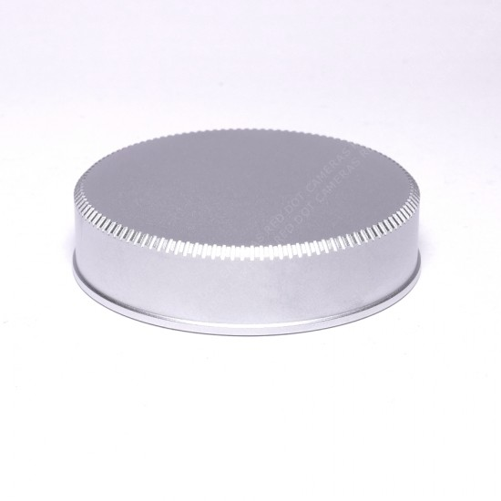 Leica Rear Lens Cap M Silver Chrome