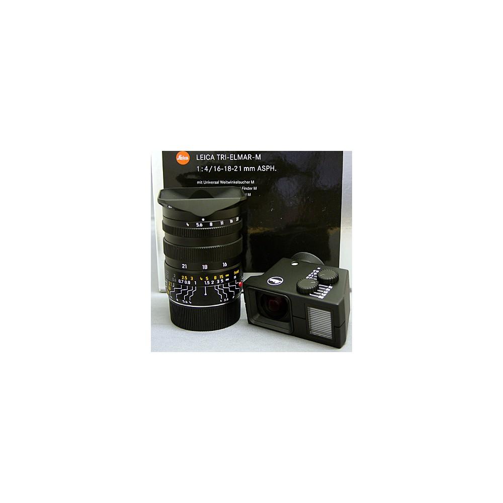 Leica Tri-Elmar 16-18-21mm f4 ASPH-M + Finder