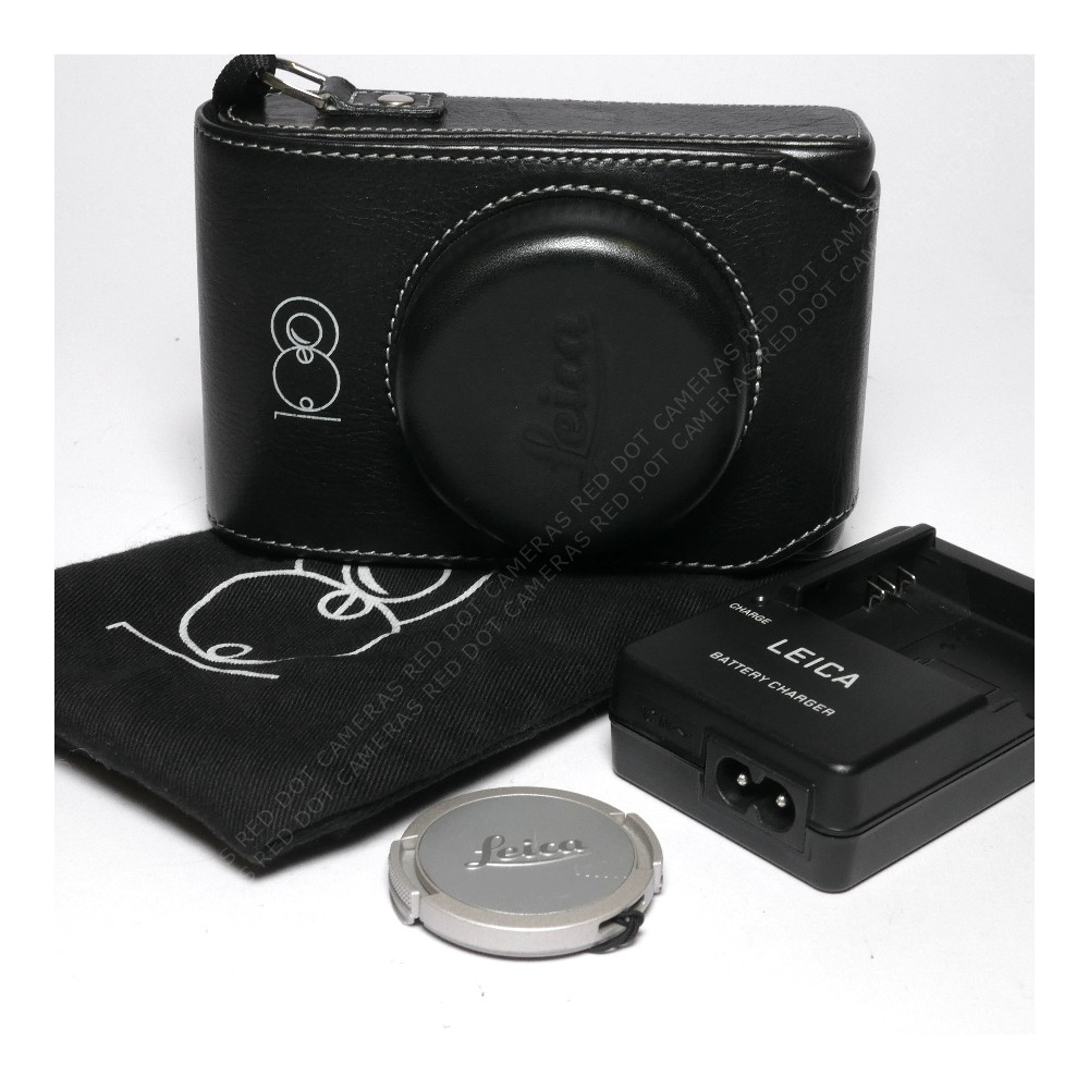 Leica D-Lux 6 'Edition 100 Year' Black Gloss/Silver & Case