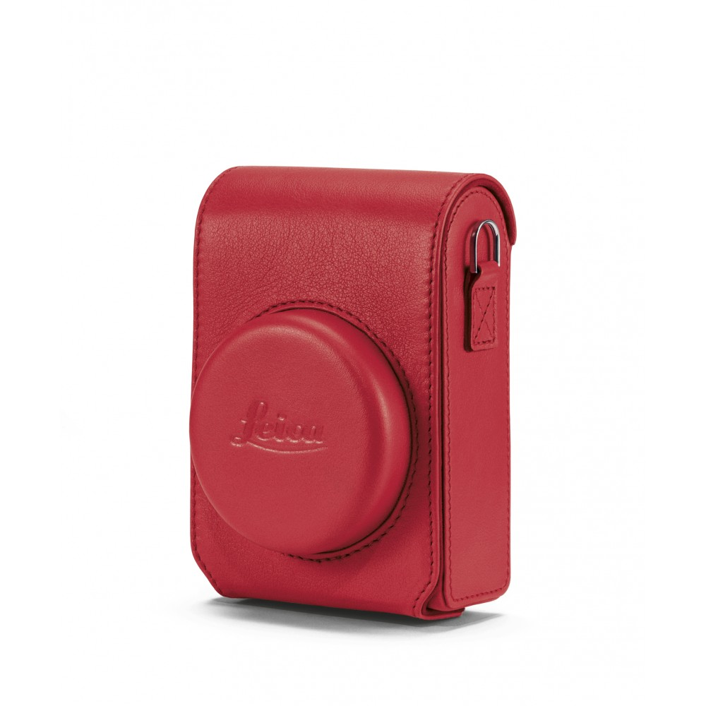 Leica Case C-Lux, leather, red