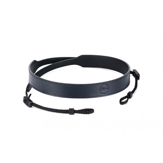 Leica Carrying strap C-Lux, leather, blue