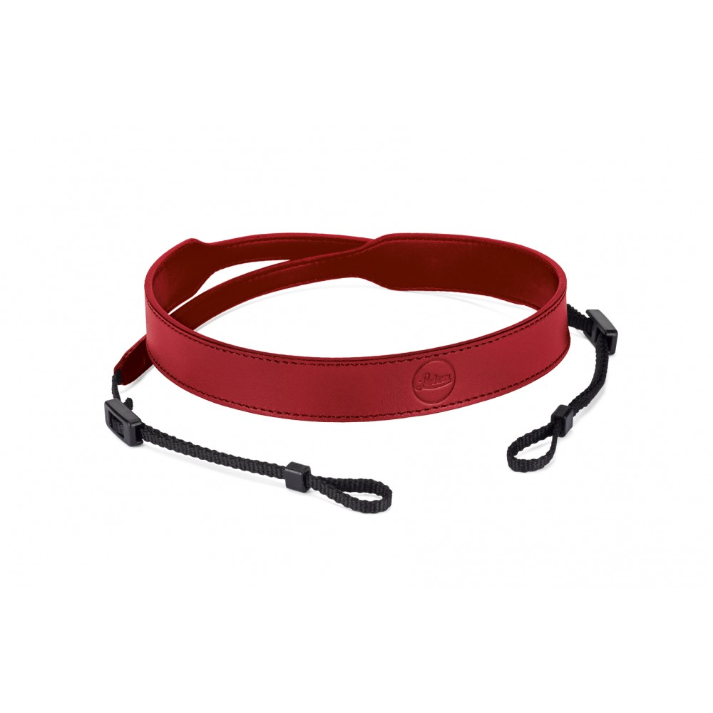 Leica Carrying strap C-Lux, leather, red