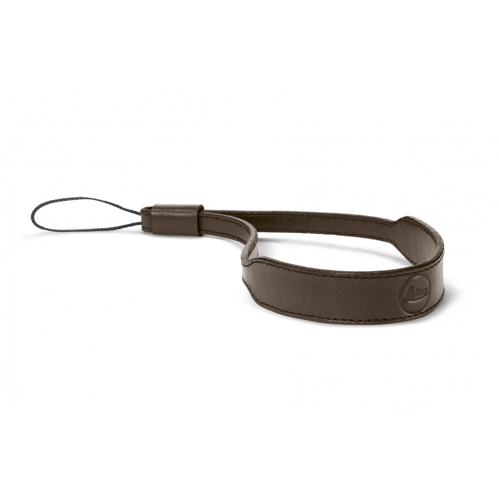 Leica Wrist strap C-Lux, leather, taupe