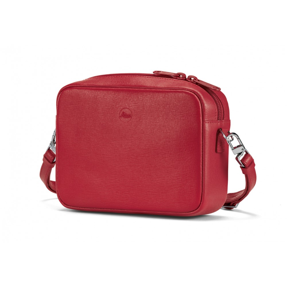 """Leica Handbag """"Andrea"""" C-Lux, leather, red"""